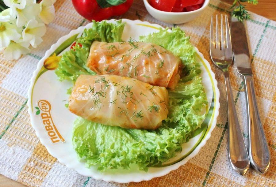 Овощные голубцы рецепт с пошаговым фото приготовления