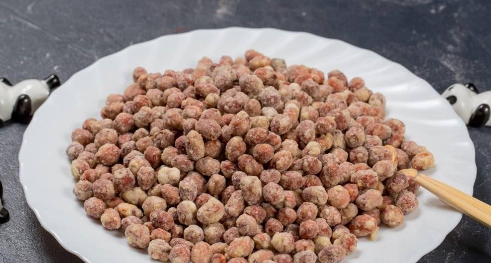 Арахис в глазури: рецепты приготовления в разных глазурях