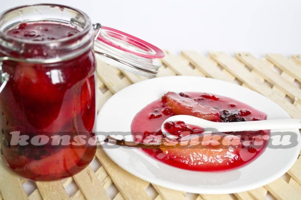 Брусничный джем, конфитюр из брусники: рецепт приготовления