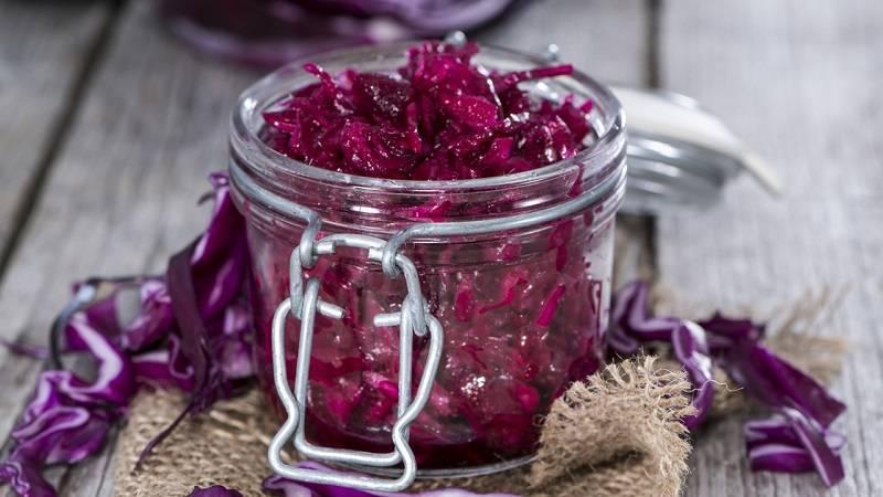 Капуста краснокочанная — 9 рецептов приготовления