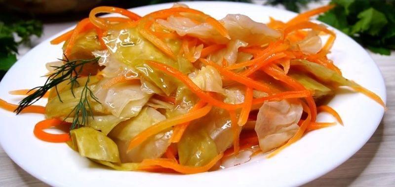 Маринованная капуста быстрого приготовления — 7 простых рецептов