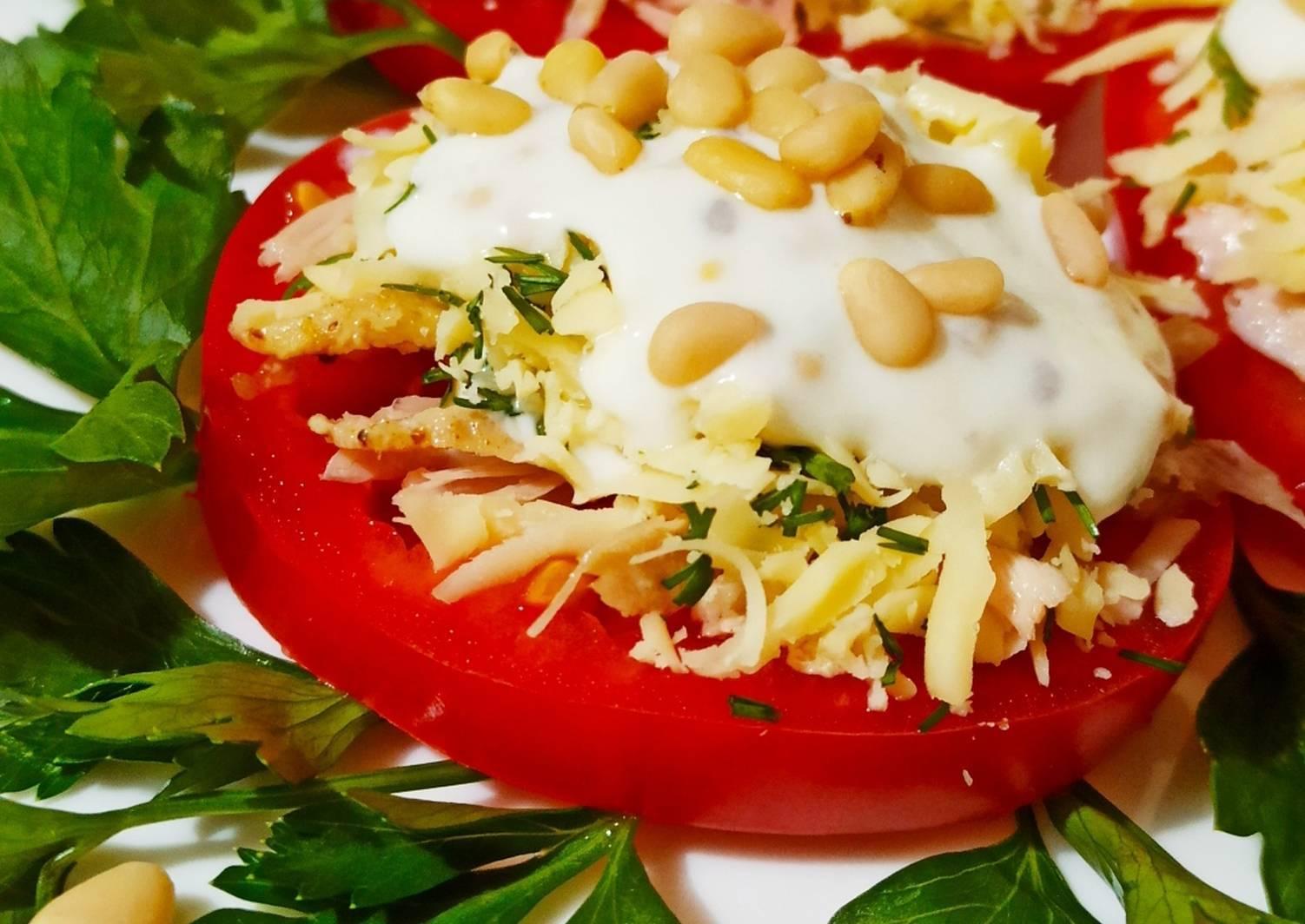 Готовим салат с кедровыми орешками