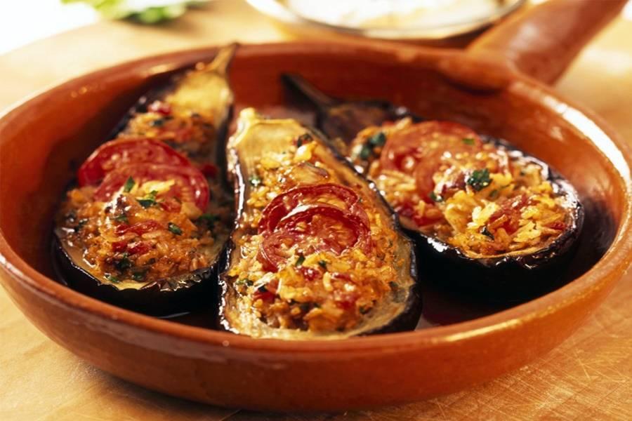 Фаршированные баклажаны в духовке — 5 вкусных рецептов