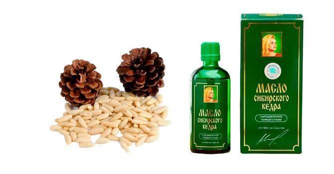 Что лечит кедровое масло