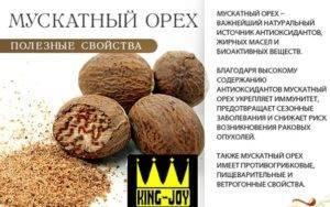Мускатный орех: полезные свойства, противопоказания, польза и вред