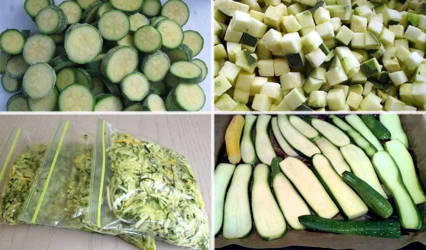 Заготовка кабачка на зиму, как замораживать? вкусные рецепты из замороженных кабачков