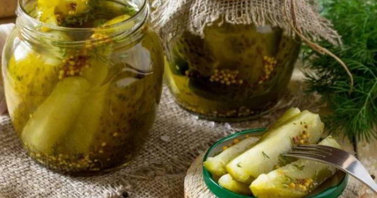 Огурцы с горчицей на зиму в банках — 9 самых вкусных рецептов