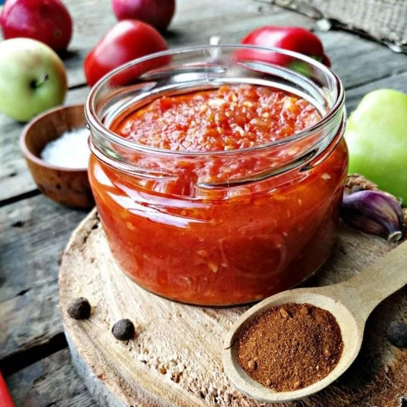 Вкусная аджика из перца: топ-13 пошаговых рецептов
