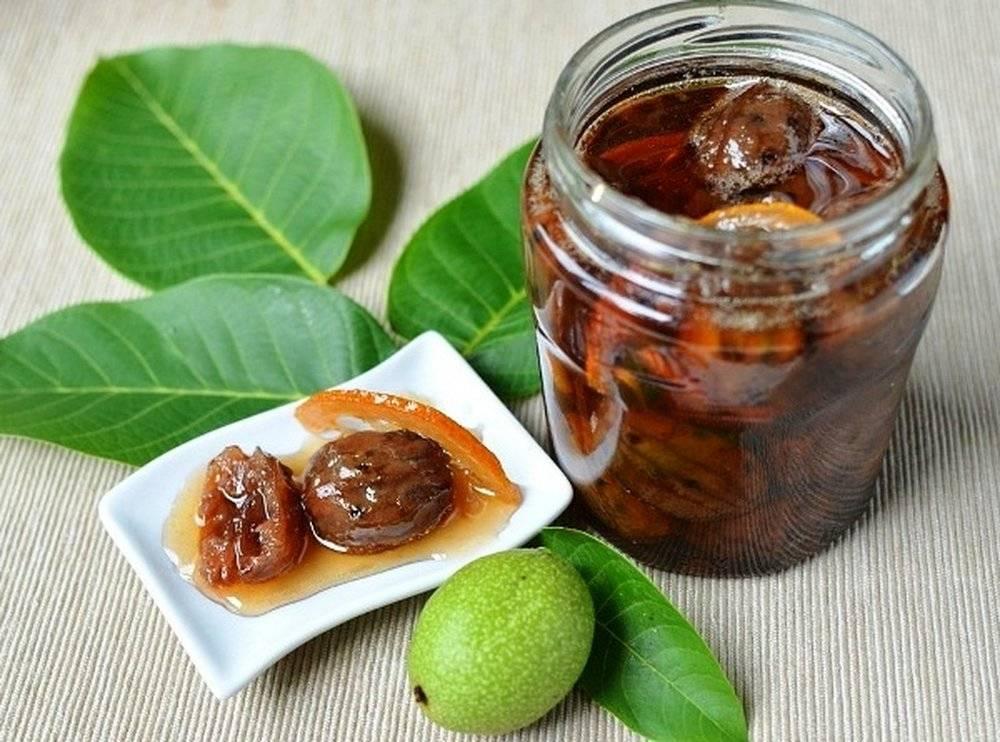 Варенье изгрецких орехов: рецепты иззеленых испелых плодов, польза для мужчин иженщин, противопоказания