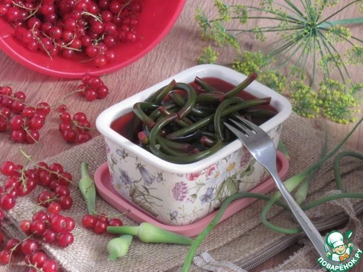 Маринованные стрелки чеснока – 7 рецептов на зиму пальчики оближешь с фото пошагово