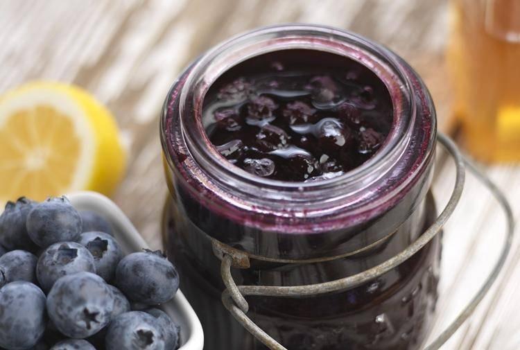 Джем черничный: простой рецепт на зиму