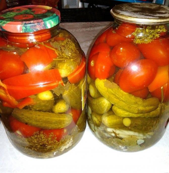 Ассорти из овощей: рецепт и фото