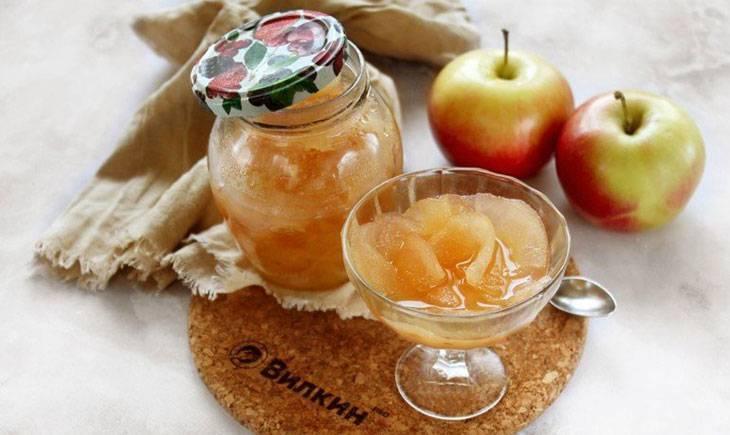 Варенье пятиминутка из яблок