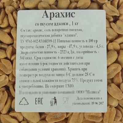 Что такое бланшированный арахис