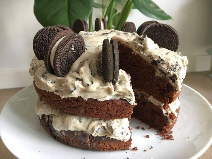 Шоколадный торт орео: рецепт с фото