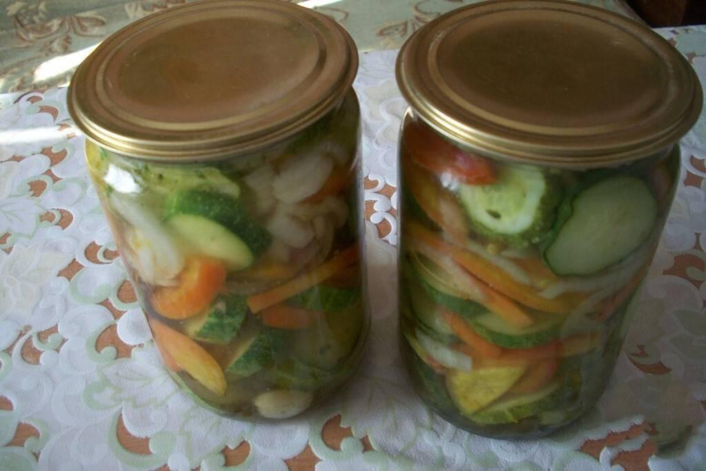 Салат из огурцов и помидоров на зиму - 10 самых вкусных рецептов с фото пошагово