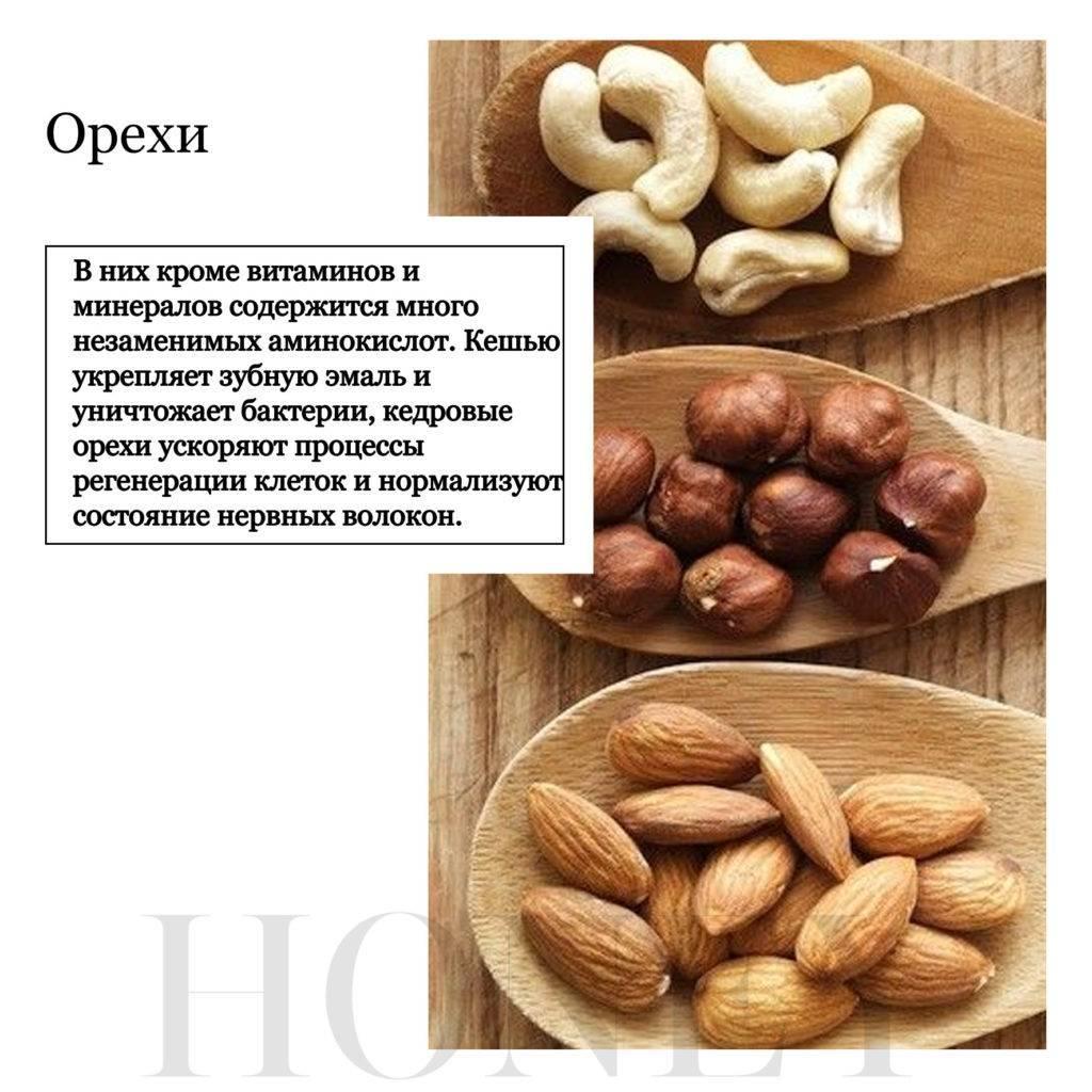 Сколько калорий в кедровых орехах, можно ли их есть худеющим
