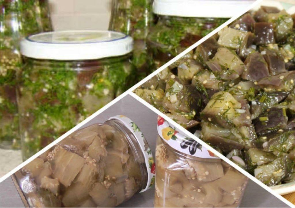 Баклажаны как грибы на зиму - лучшие рецепты закуски