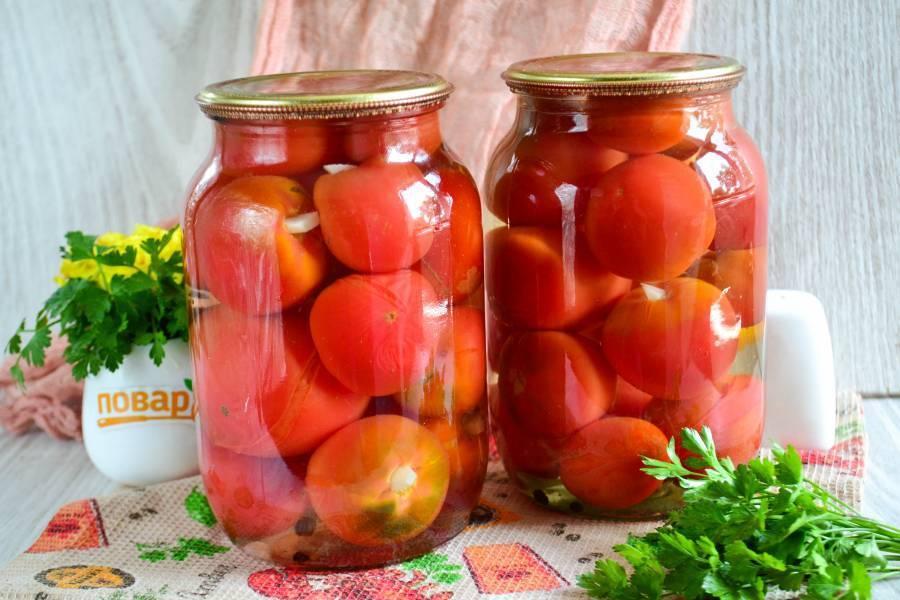 Заготовки на зиму помидоры с медом. помидоры с медом в литровых банках