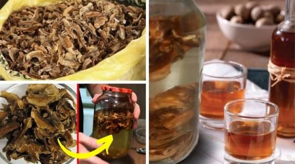Рецепт приготовления настойки на перегородках грецкого ореха на самогоне