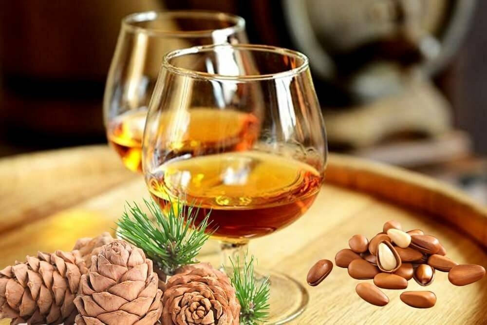 Самогон на кедровых орехах рецепт