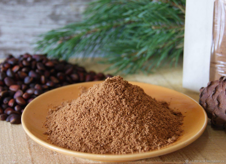 Жмых кедрового ореха: полезные свойства, особенности применения, где купить и как хранить
