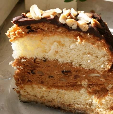 Модный торт «сникерс» – очень классный! решилась приготовить и не прогадала: долго, но чертовски вкусно - пир во время езды