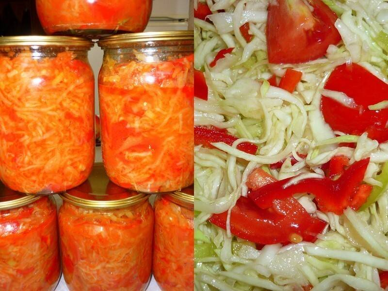 Самые вкусные рецепты помидоров с капустой!