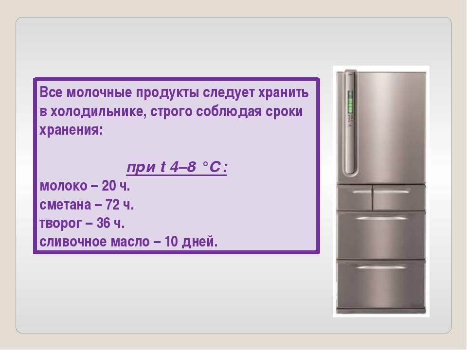 Сколько времени хранится кипяченое молоко в холодильнике?