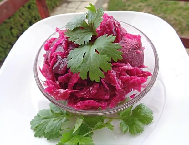 Пхали из свеклы по - грузински рецепт с фото