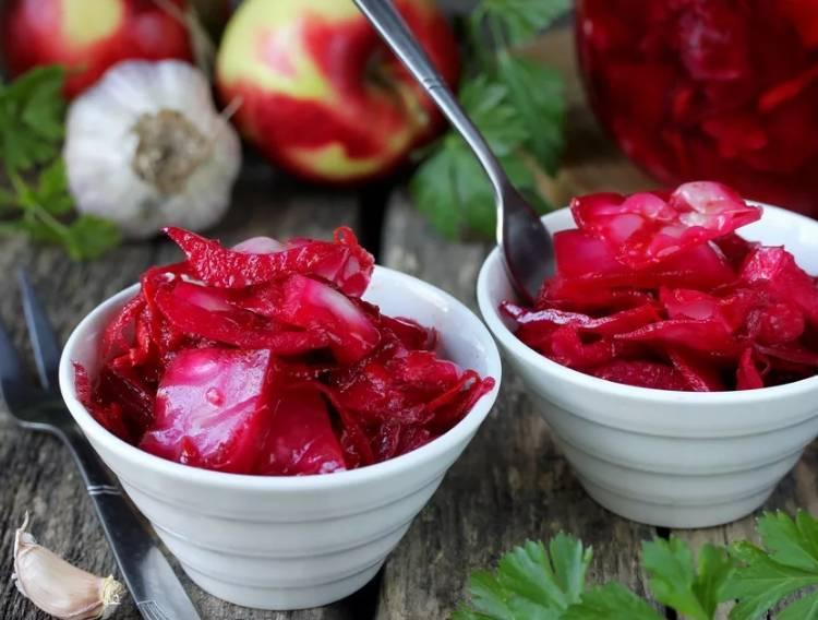 Маринованная свекла – рецепт салата, холодного борща, холодника, свекольника и других блюд