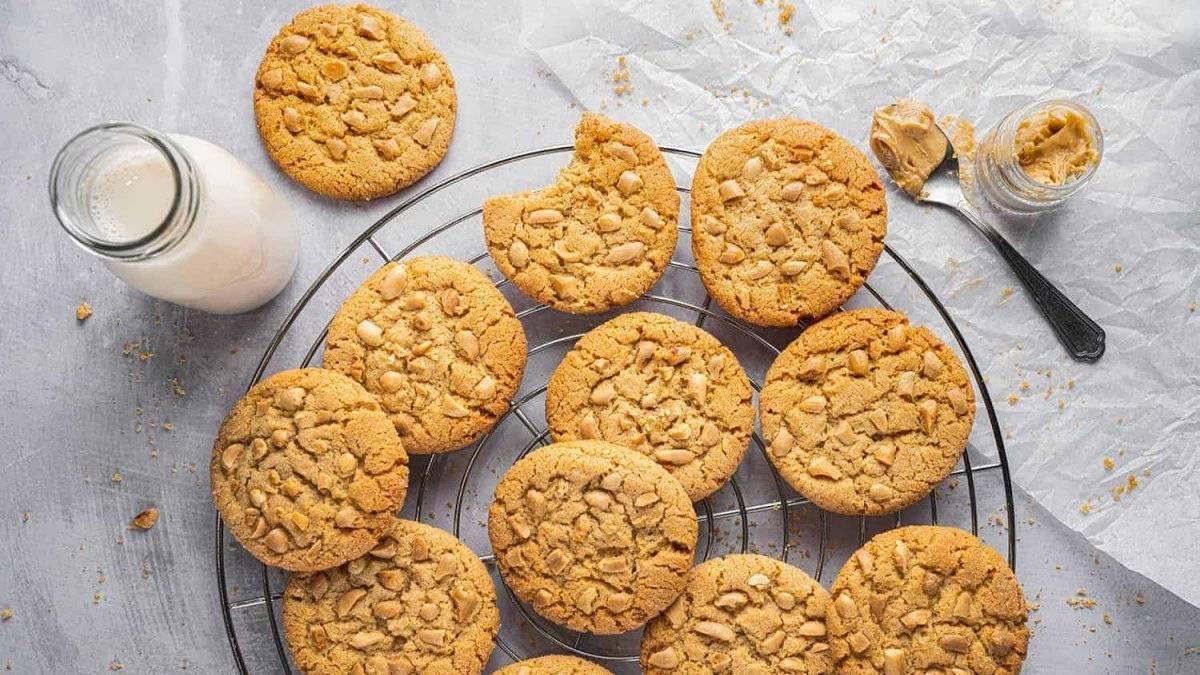 Американское печенье с арахисовой пастой – кулинарный рецепт