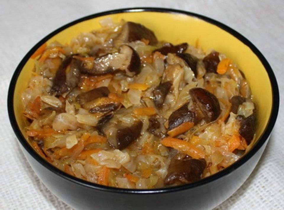 Рецепты солянка с грибами и капустой