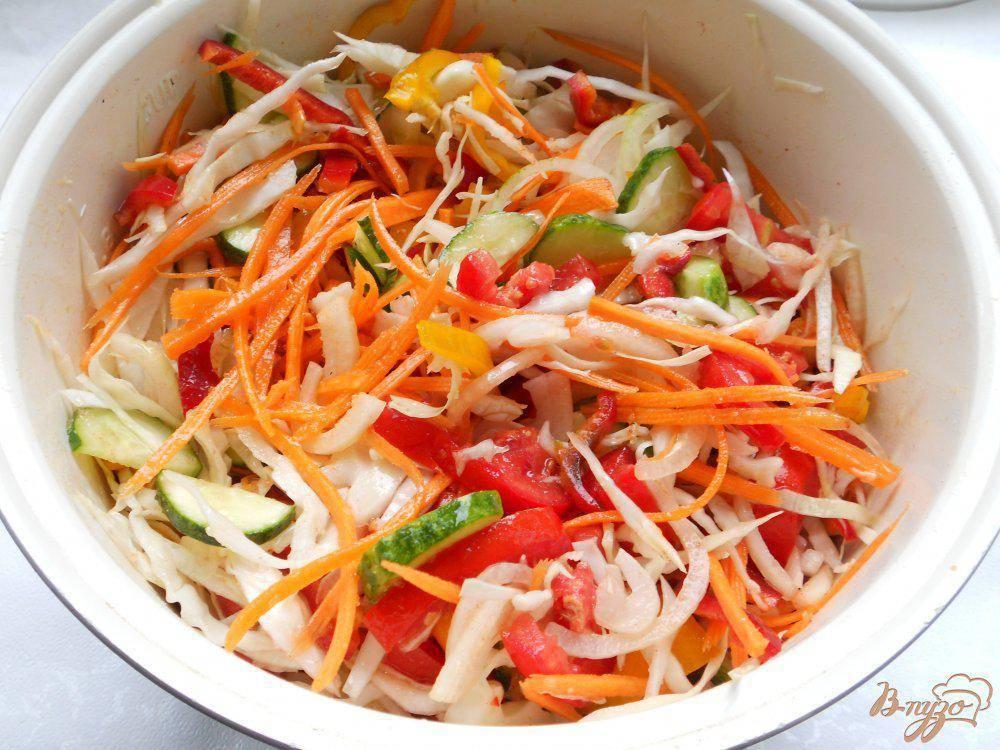 Салат «кубанский» на зиму: топ-4 рецепта с фото без стерилизации