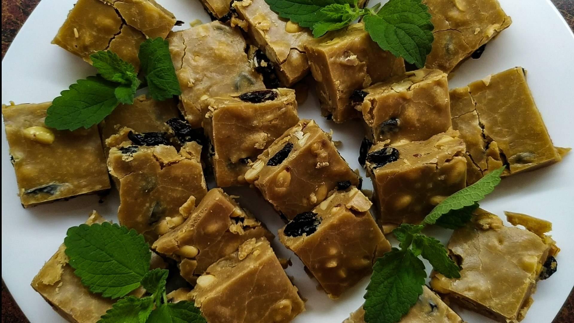 Щербет с арахисом   кулинарушка - вкусные рецепты