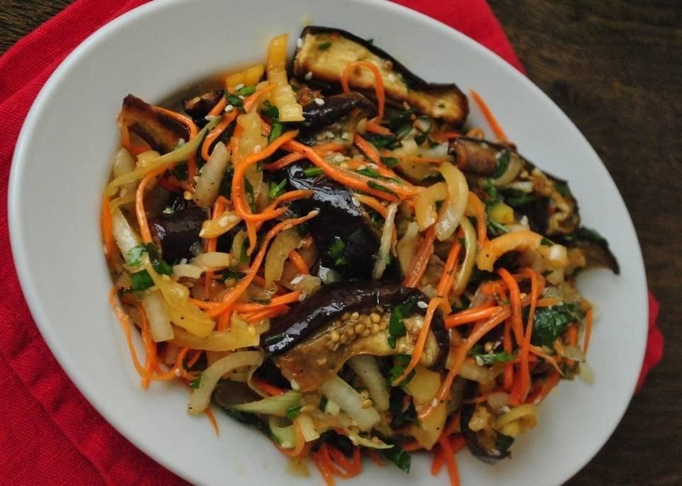 Баклажаны по-корейски на зиму по самым вкусным рецептам