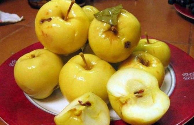Яблоки моченые, рецепт моченых яблок антоновка