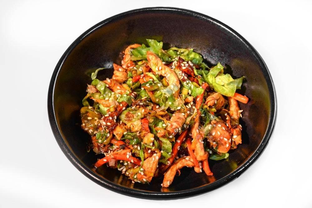 Курица с арахисом по-китайски – кулинарный рецепт