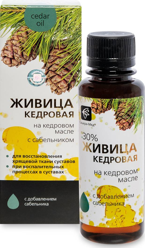 Живица кедровая: лечебные свойства, применение и противопоказания