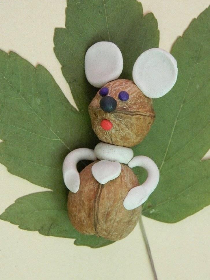 Грецкий орех для творчества: идеи и фото интересных поделок из ореховой скорлупы, мастер-классы