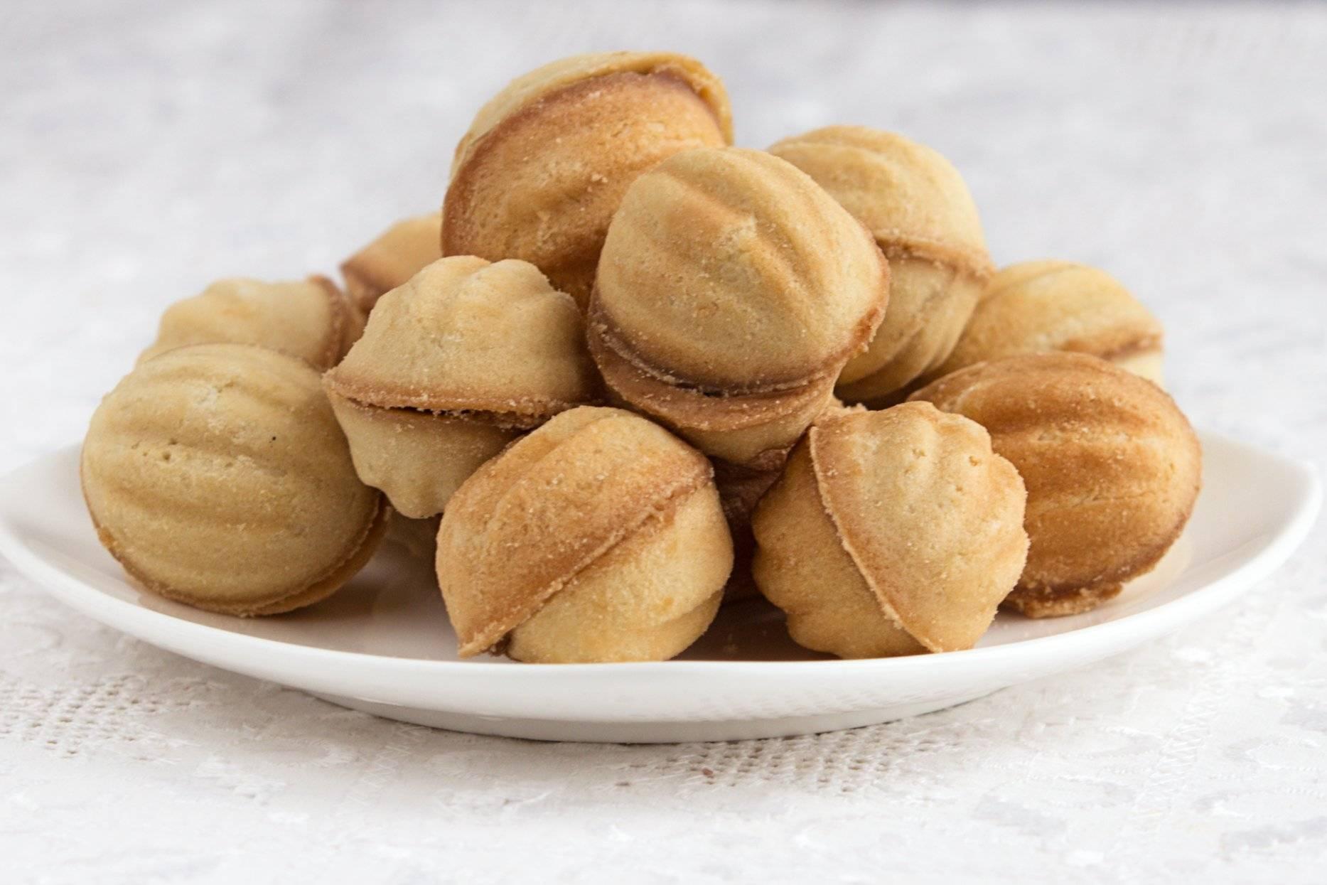 Орешки со сгущенкой - рецепт с фото пошагово
