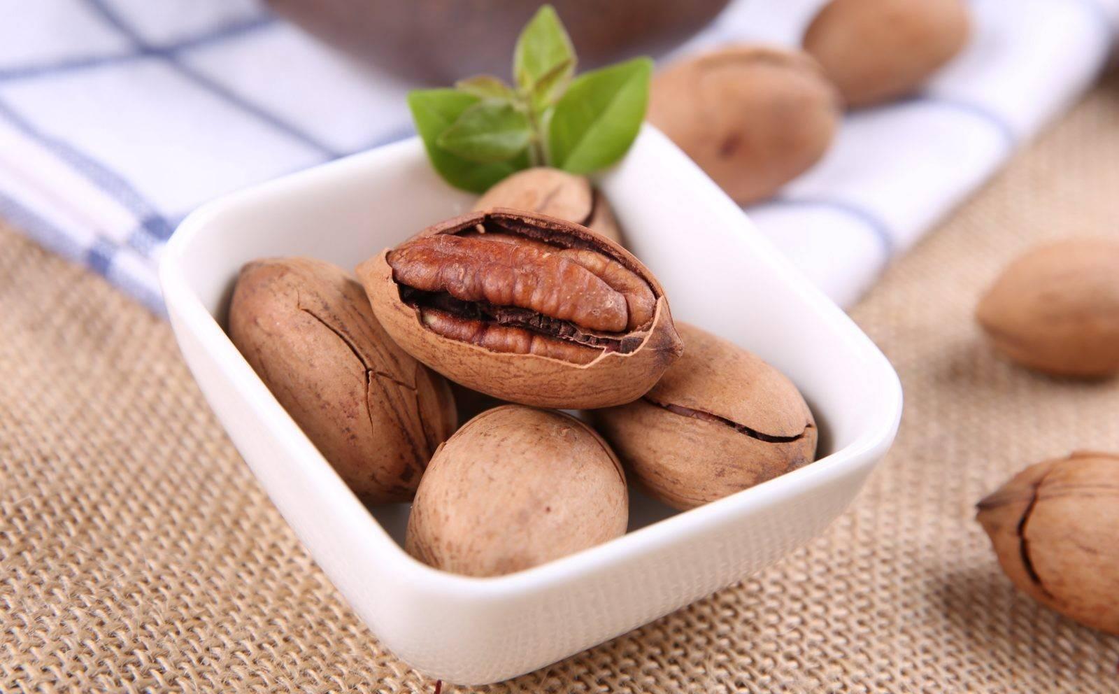 Пекан: польза и вред ореха, калорийность, фото, полезные свойства для женщин, мужчин и детей и противопоказания