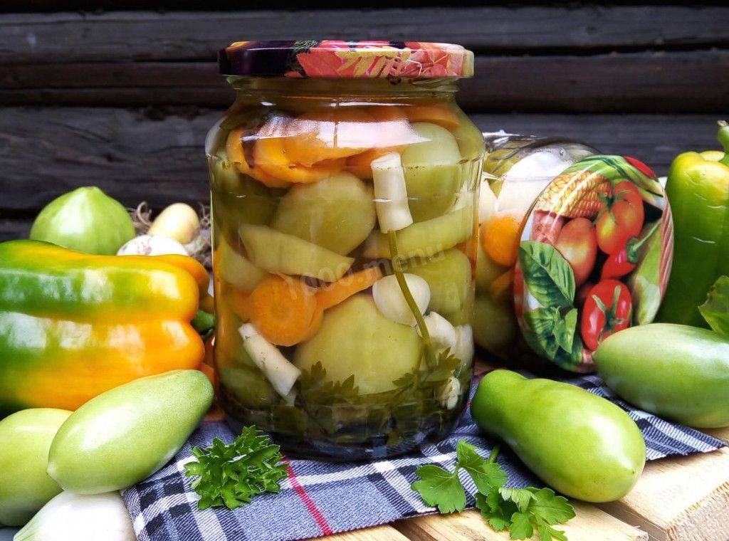 Рецепты зелёных помидор быстрого приготовления