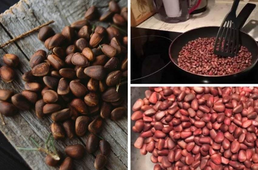 Как жарить орехи кедровые