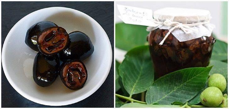 Польза варенья из зеленых грецких орехов, 5 рецептов варки