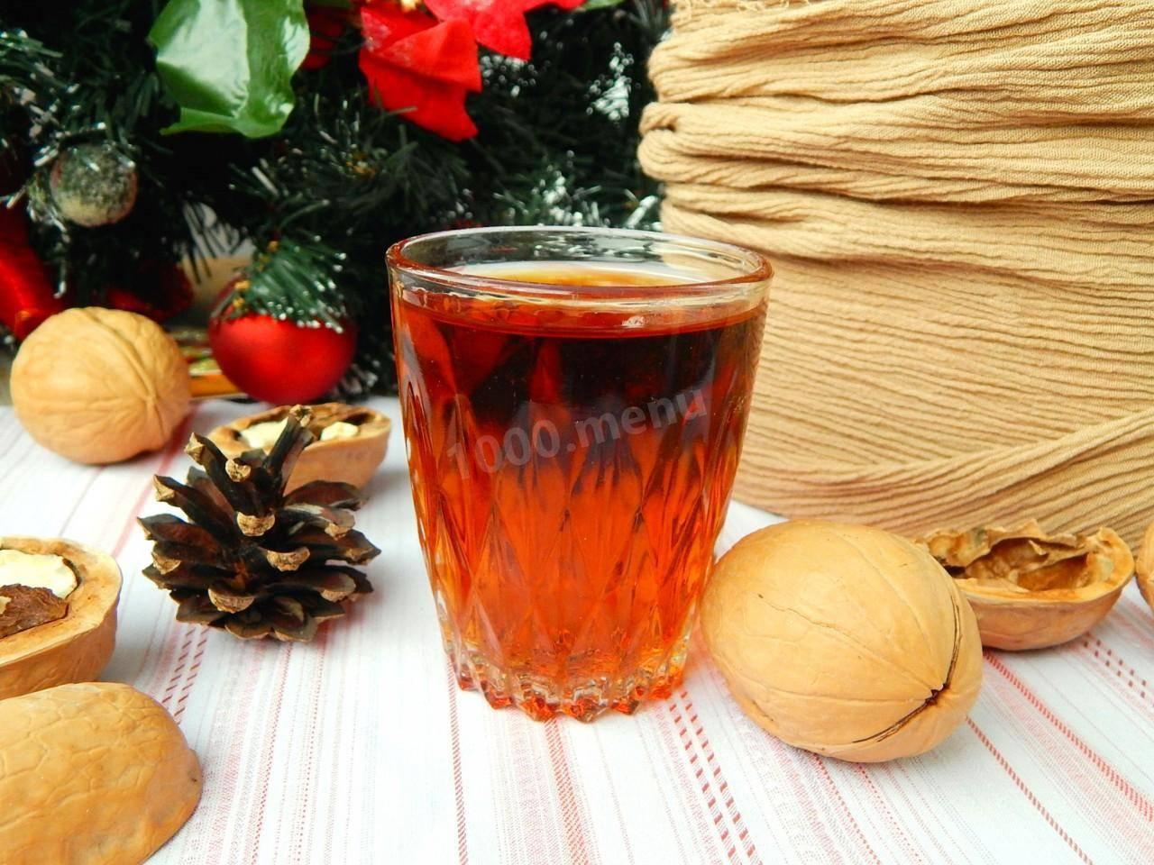 Перегородки грецких орехов - настои, настойки и рецепты применения