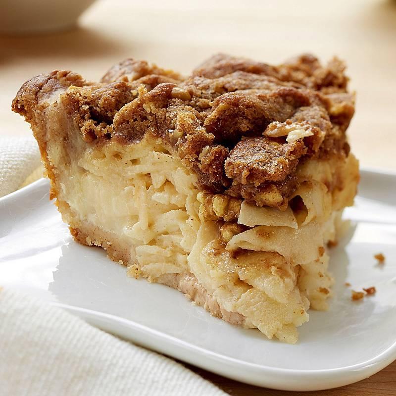 Пирог с яблоками и орехами - 7 пошаговых фото в рецепте