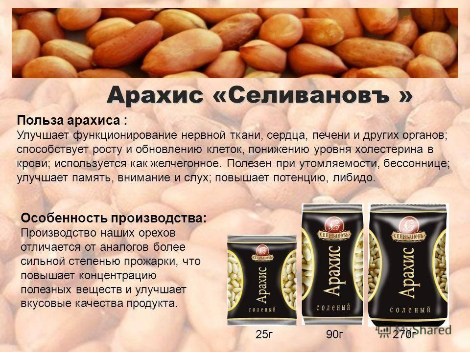 Чем полезен арахис для организма человека и есть ли вред
