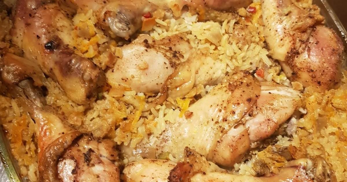 Рис с курицей в духовке: 5 фото-рецептов вкусного и простого блюда