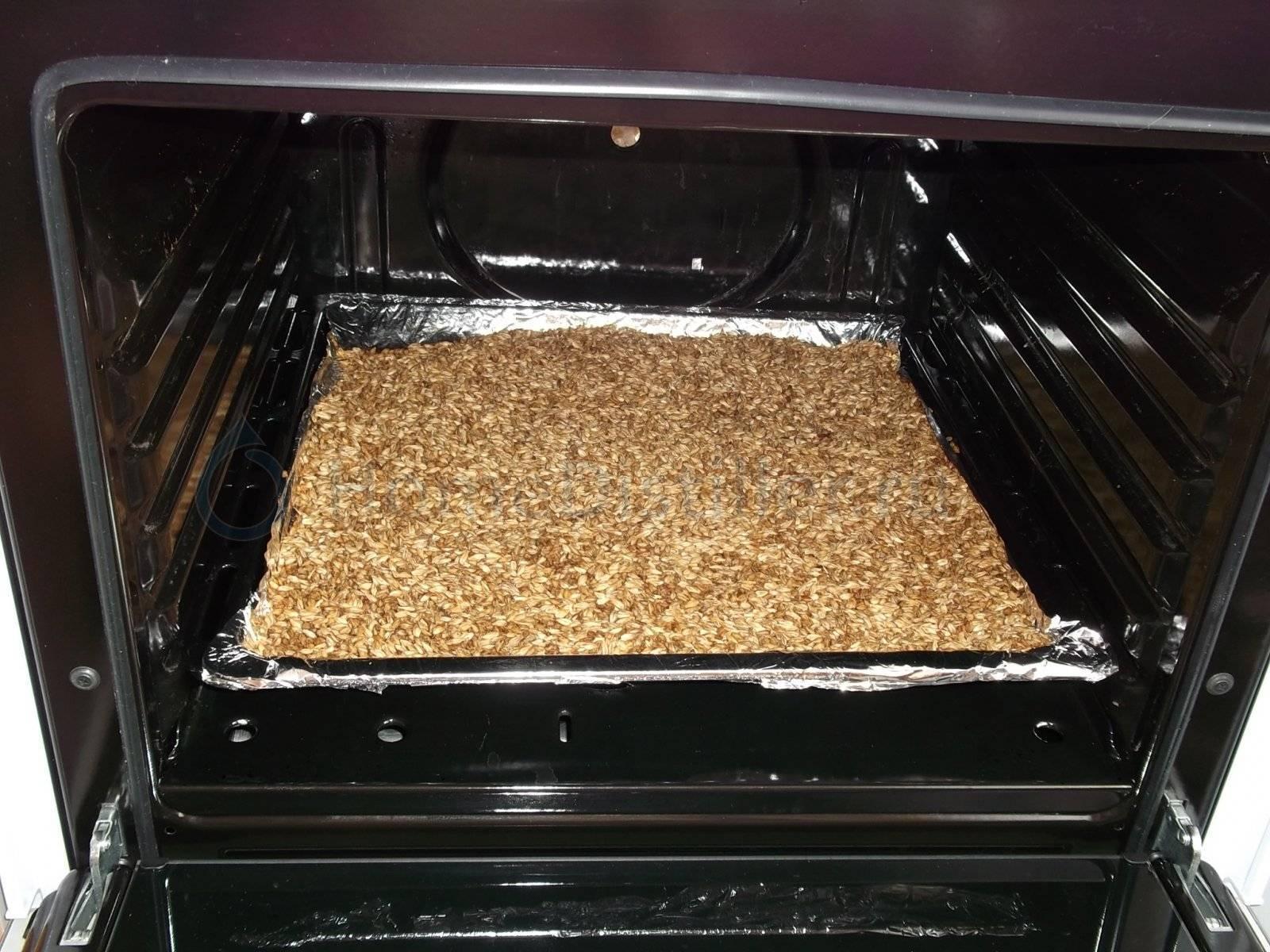 Как подсушить орехи в духовке, микроволновке, на солнце
